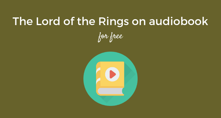 The Lord of Rings audiobook